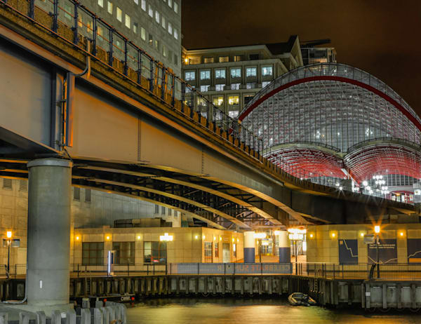 Canary Wharf DLR | London Art Photography Store