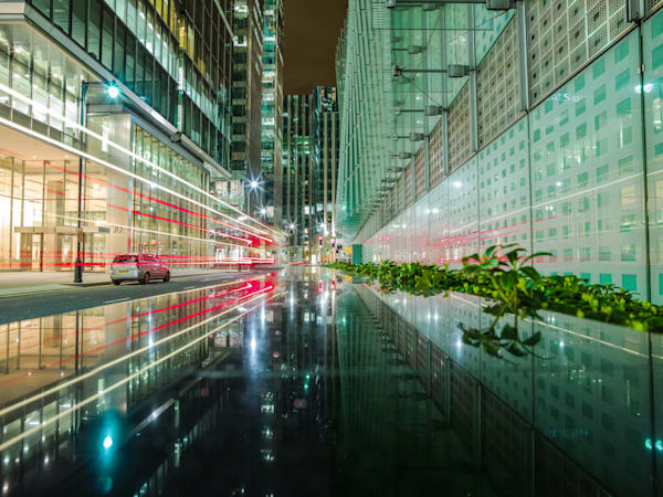 Canary Wharf in Glass | London Art Photography Store