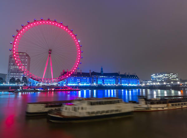 London Eye Across The Thames | London Art Photography Store
