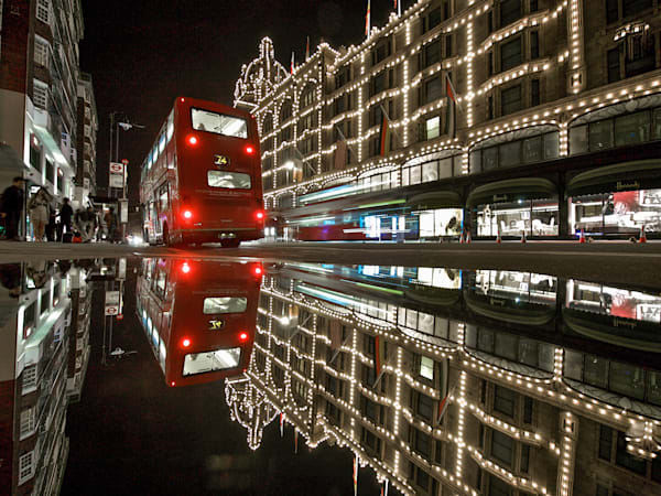 Harrod's Reflection | London Art Photography Print