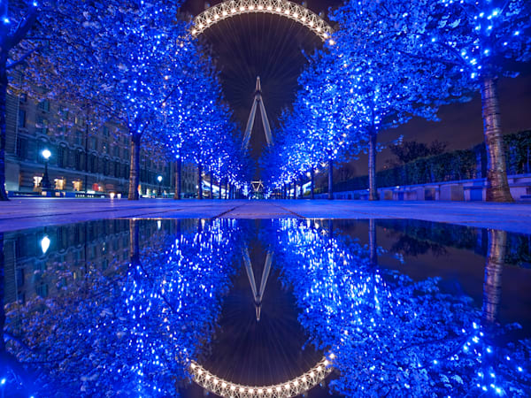 The Blue Walkway | London Art Photography Print