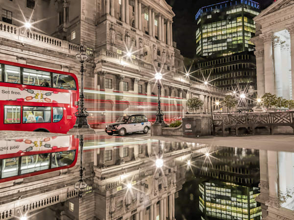 Taxi or Bus   London Art Photography Print