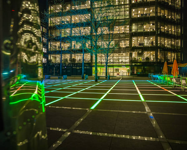 Finsbury Square in Green | London Art Photography Print