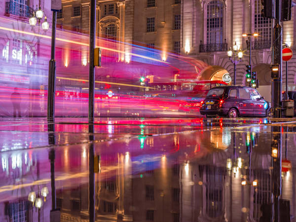 Piccadilly Streakers | London Art Photography Print