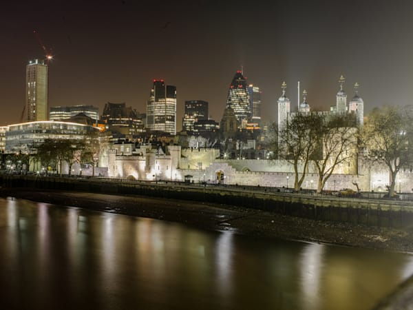 The City and The Tower of London | London Art Photography Print