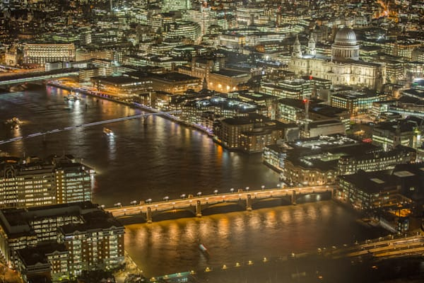 View Of London | London Art Photography Print