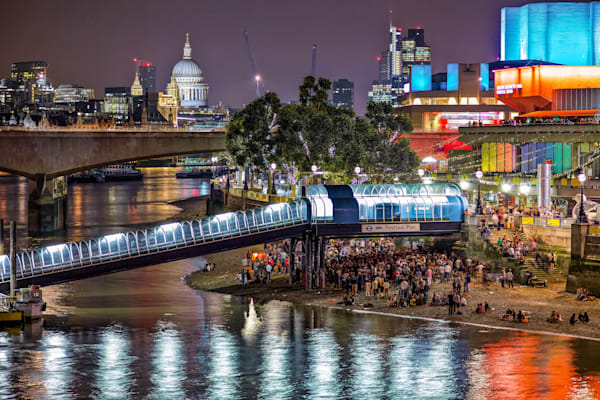 Festival on the Southbank | London Art Photography Print