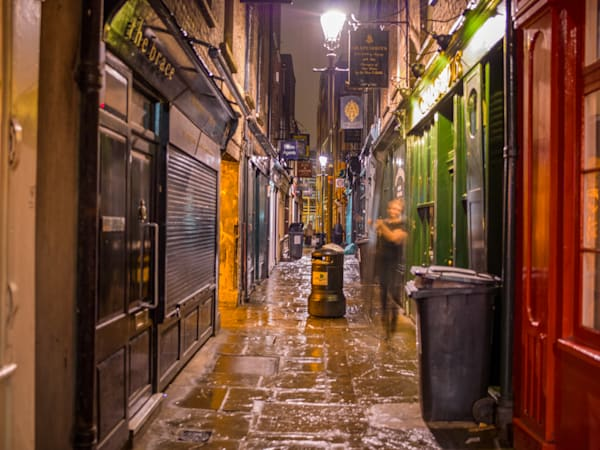East London Damp Alley | London Art Photography Store