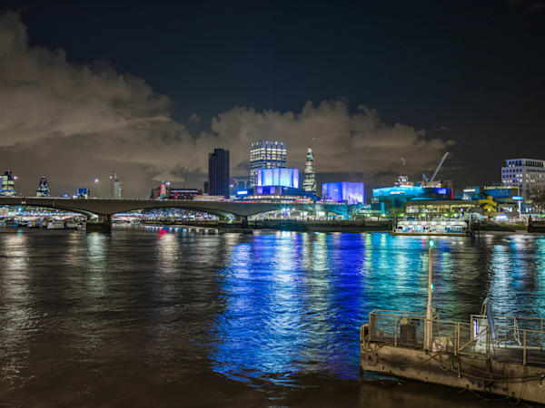 Blue Reflection on the Thames