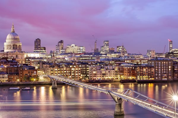 London Skyline From The Tate Modern | London Art Photography Store