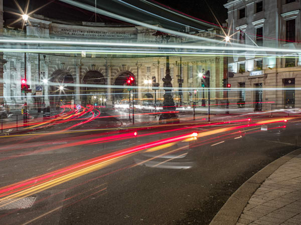 Admiralty Arch Chaos