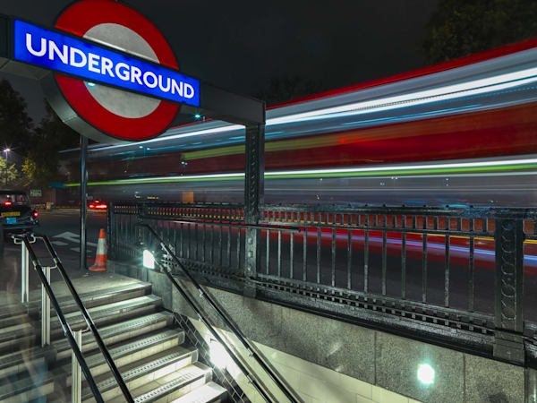 Tube Stop | London Art Photography Store