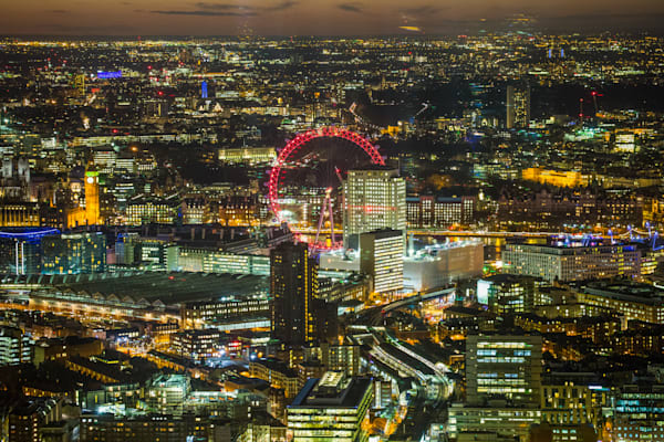 Expansive London At Night | London Art Photography Store