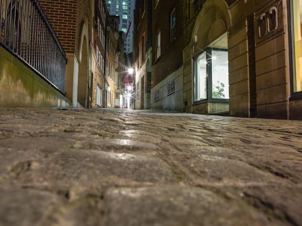 Quiet Alley Down Low | London Art Photography Store