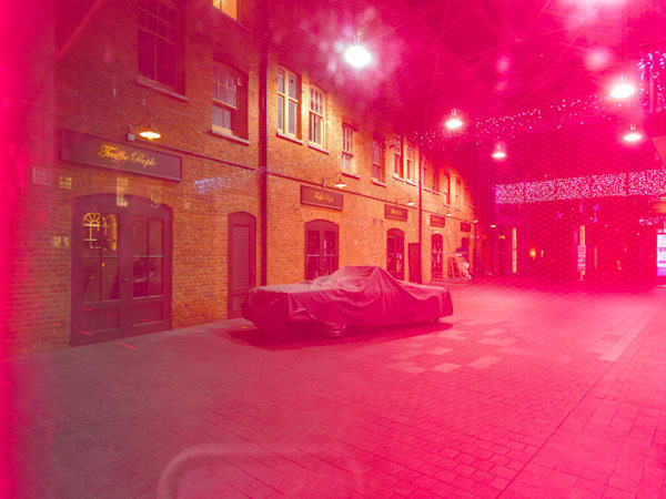 Spitalfields In Red | London Art Photography Store
