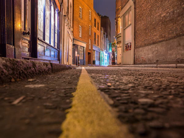 Follow The Yellow Line | London Art Photography Store