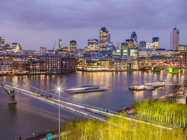 Modern London Skyline | London Art Photography Store