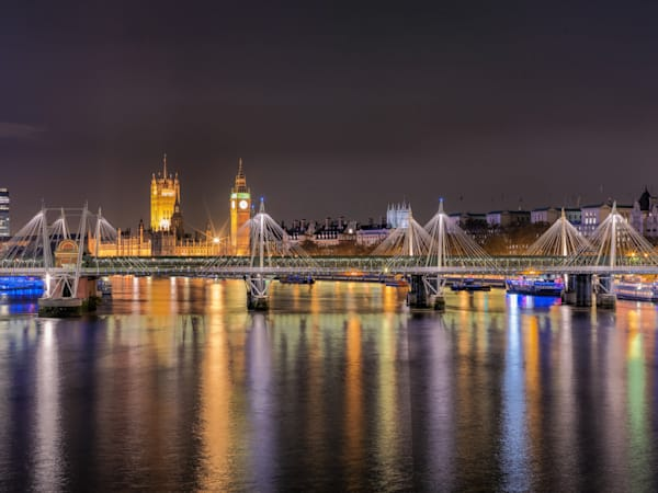 Jubilee Bridge | London Art Photography Store