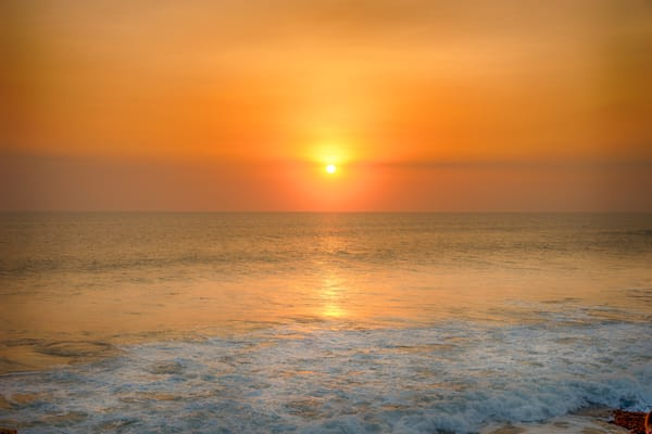 Tanah Lot Sun Photography Print | Gifts For Art Lovers