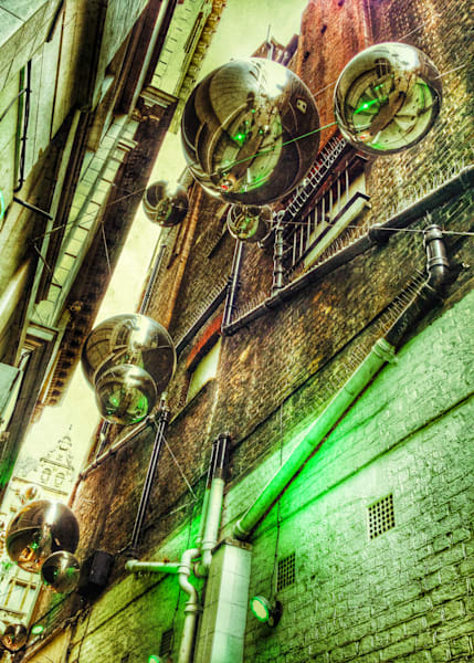 Green Alley Photography Print | Gifts For Art Lovers