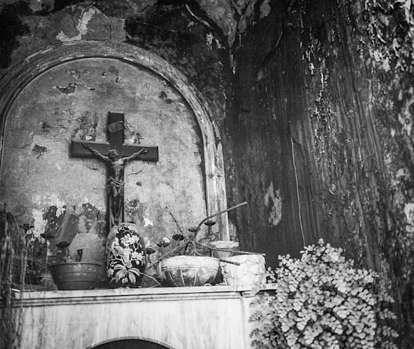 Recoleta Cemetery III | Black and White Art Photography Store