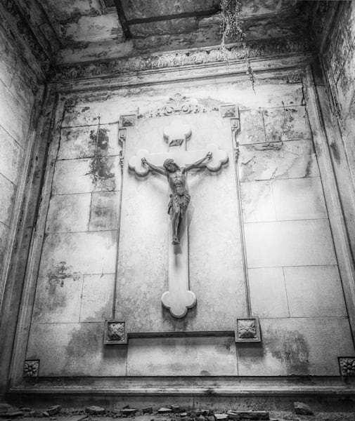Recoleta Cemetery VI | Black and White Art Photography Store