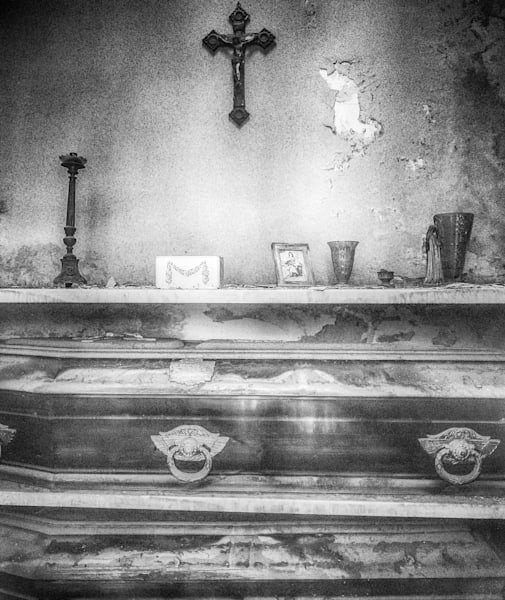Recoleta Cemetery VIII | Black and White Art Photography Store