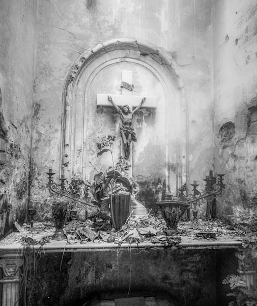 Recoleta Cemetery | Black and White Art Photography Store