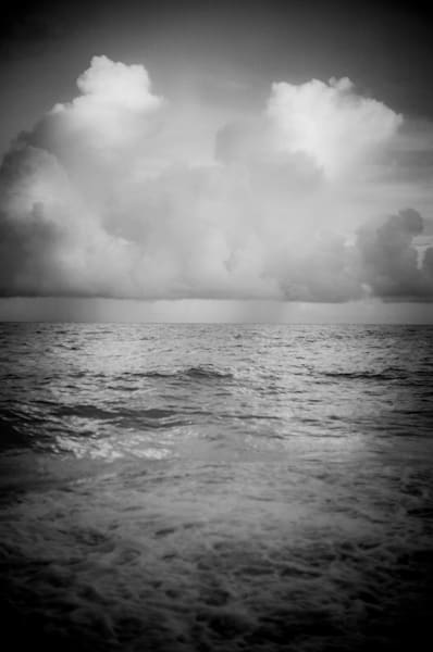 Barbados Storm Drama | Black and White Landscape Photography