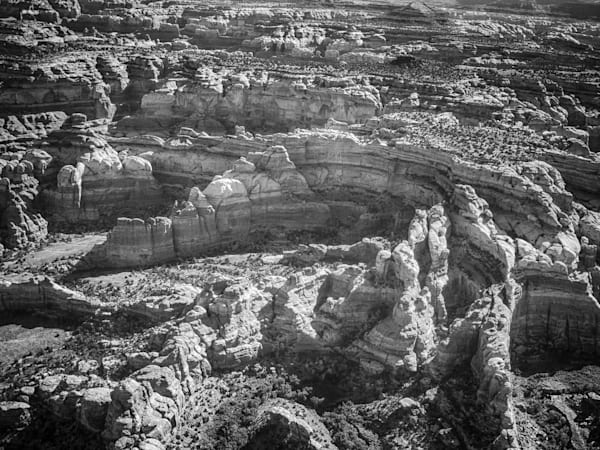 Canyonlands Monotone | Black and White Landscape Photography
