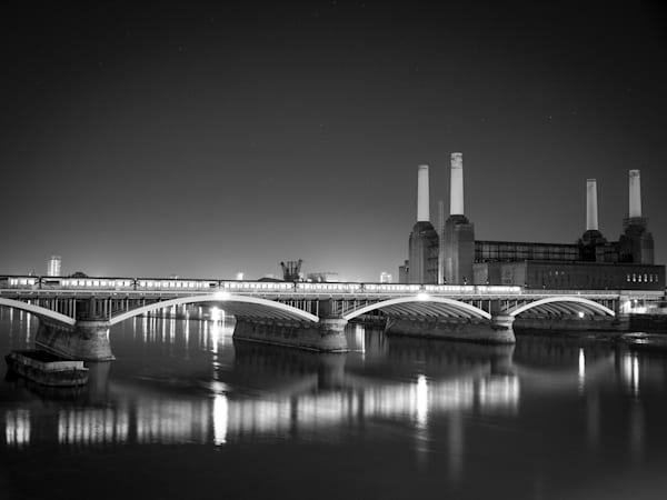 Iconic Battersea | Black and White London Photography