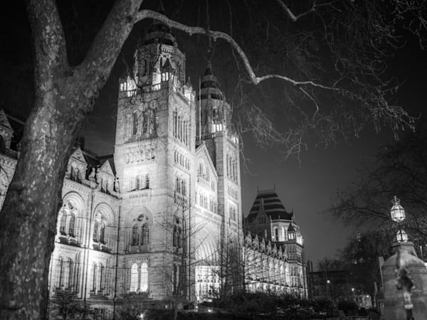 Natural History Museum | Black and White London Photography