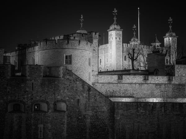 Tower of London   Black and White London Photography