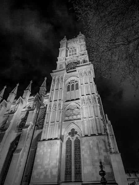 Gothic London  Black and White London Photography