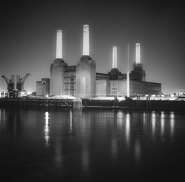 Iconic Battersea II | Black and White London Photography