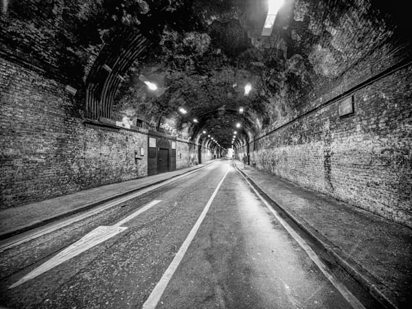 One Way | Black and White London Photography