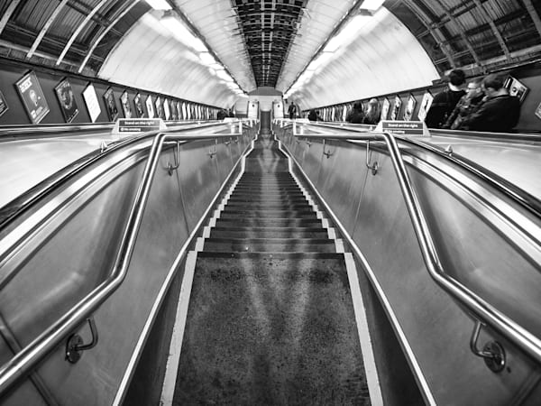 Stairway To Heaven | Black and White London Photography