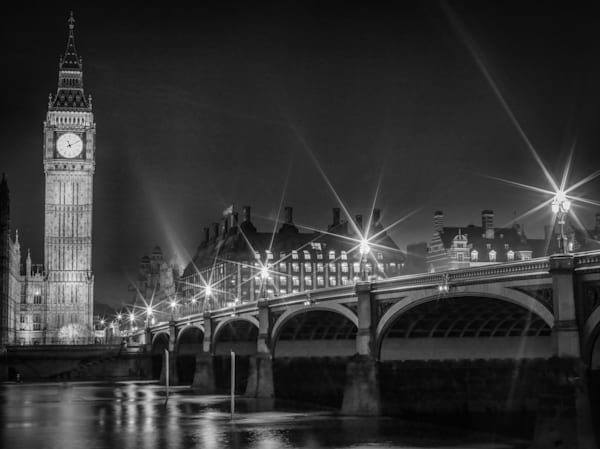 Big Ben Solitude | Black and White London Photography