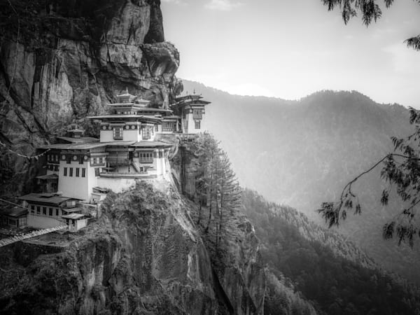 Awe of Tiger's Nest | Black and White Art Photography Store