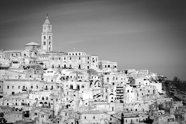 Matera Italy | Black and White Art Photography Store