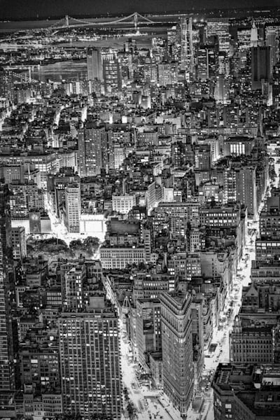 New York City Monotone III | Black and White Architecture Photography
