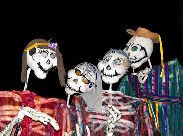 Day of the Dead Calacas | El Paso Art Photography