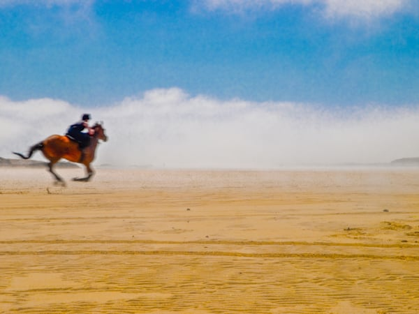 Surf Gallop In West Ireland | Tropical Landscape Photography Print
