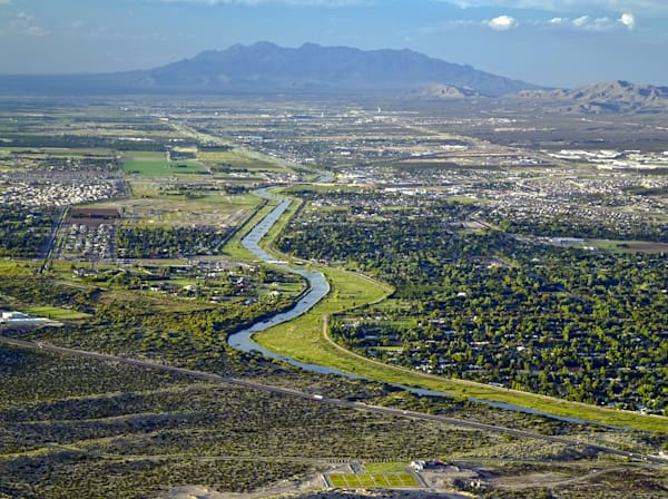 Rio Grande Green Valley | Southwest Landscape Photography Print