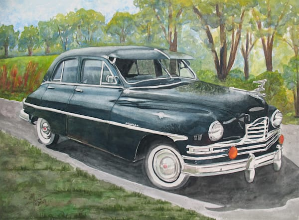1949 Packard Art | Michele Tabor Kimbrough