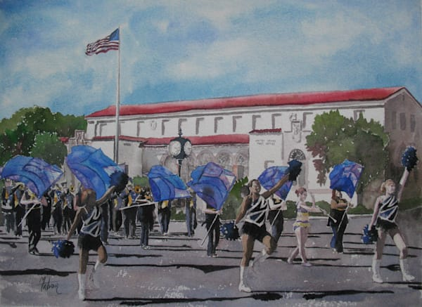 Marching Band 1 Art | Michele Tabor Kimbrough