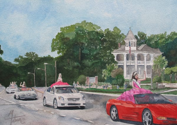 Parade Of Beauty Queens 3 Art | Michele Tabor Kimbrough