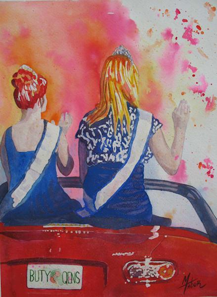 Parade Of Beauty Queens 7 Art by michelekimbrough