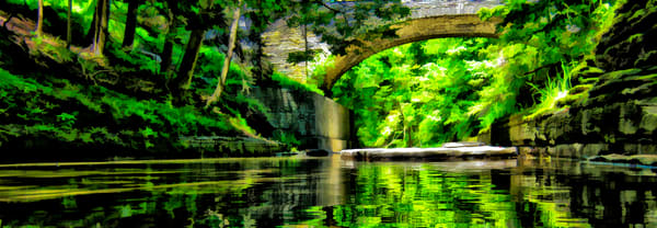 Buttermilk Gorge Art Art | monroepayne