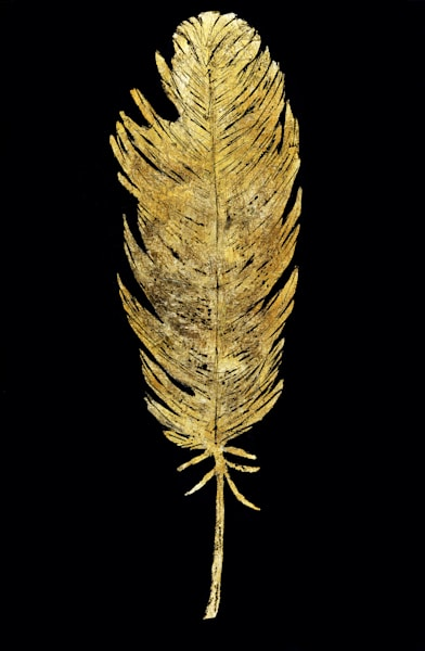 Gold Feather2